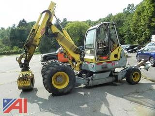 2002 Menzi Muckler Backhoe