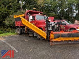 1995 International 2574 Dump Truck with Plow and Wing