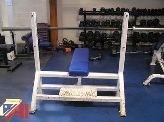 King Fitness Flat Benches