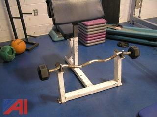 King Fitness Preacher Bench