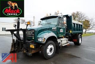 2010 Mack Granite All Season Dump Truck with Wing