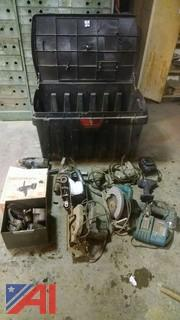 Power Tools and Pro Tuff Box