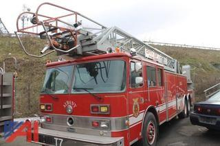 1985 Pierce Arrow Ladder Truck
