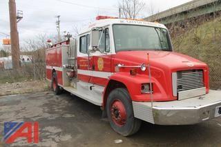 2001 Freightliner FL80 Fire Truck