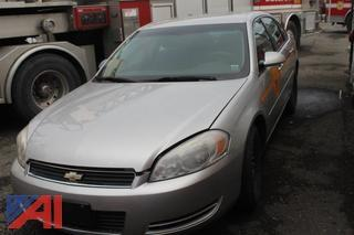 2006 Chevrolet Impala 4 Door/Police Vehicle