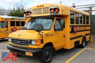 2006 Ford E450 Super Duty Mini Wheel Chair School Bus