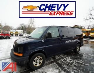 2008 Chevy Express 1500 Passenger Van
