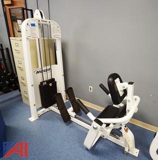 Hoist #TMS-16 Low Back Machine
