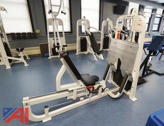 Hoist #TMS-11 Leg Press Machine