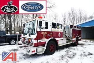1992 Mack 4 Guys Pumper