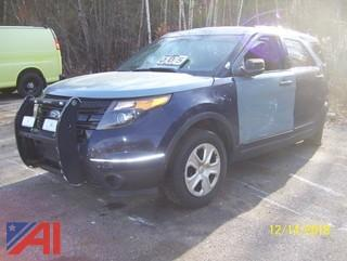 2013 Ford Explorer SUV/Police Vehicle  E#37211