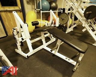 Hammer Strength Plate Loaded ISO Lateral Leg Curl
