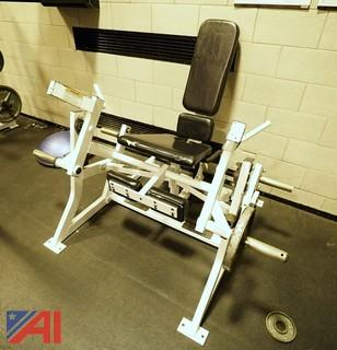 Hammer Strength Plate Loaded Lateral Leg Extension