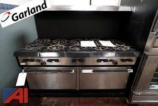 Garland 10 Burner Gas Range/Double Oven