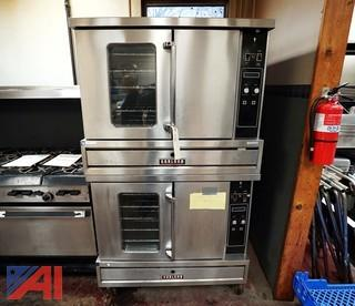 Garland Double Stack Gas Convection Ovens