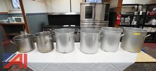 Stainless Steel and Aluminum Stock Pots
