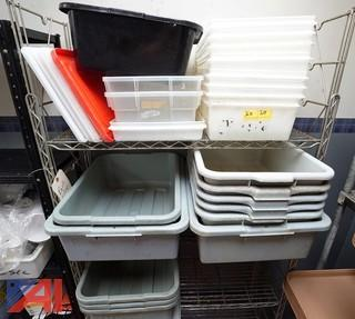 Bus Pans, Containers and More