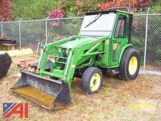 2001 John Deere 4300 Tractor