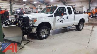 **5% BP** 2015 Ford F250 Super Duty Pickup Truck & Plow