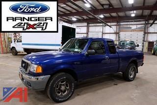 2004 Ford Ranger XLT Pickup Truck Extended Cab
