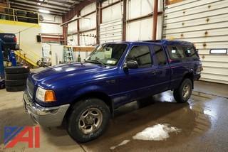 2003 Ford Ranger XLT Extended Cab Pickup Truck