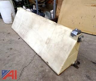 Read Saddle Bags 7' Poly Calcium Chloride Tank