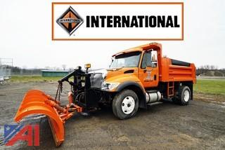 2006 International 7400 SFA Dump Truck and Plow