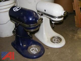 Assorted Kitchen Aid Stand Mixers