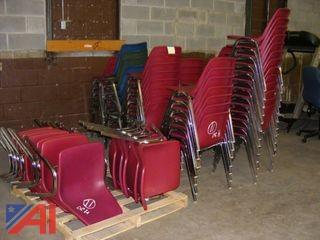 Assorted Color Stacking Chairs