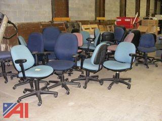 Assorted Rolling Office Chairs & More