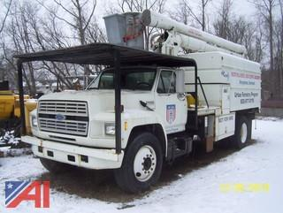 1993 Ford F700 Forestry Bucket Truck