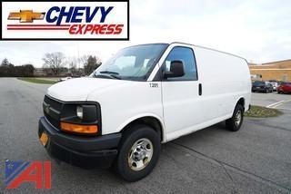 2012 Chevy Express 3500 Cargo Van