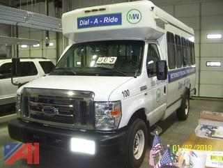 2014 Ford E350 Wheel Chair Bus
