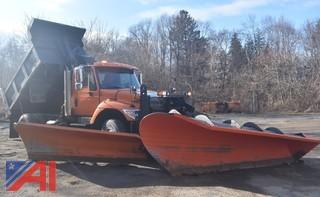 2005 International i7400 Dump with Plow and Wing