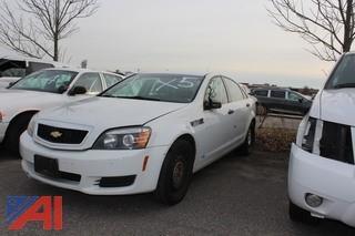 2013 Chevrolet Caprice Sedan/Police Vehcile