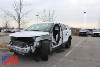 2014 Ford Explorer Sedan/Police Vehcile