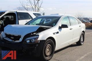 2013 Chevrolet Caprice Sedan/Police Vehicle
