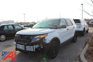 2015 Ford Explorer SUV/Police Vehicle