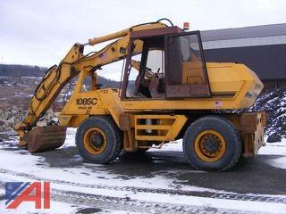 1999 Case 1085C Cruz-Air Wheel Excavator