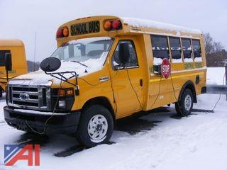 2009 Ford E350 Super Duty Mini School Bus