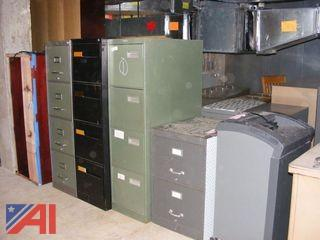 File Cabinets, Chairs, Desks & More
