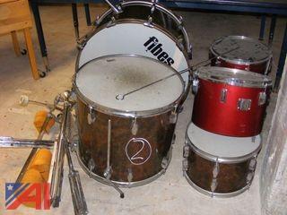 Fibes Drum Set