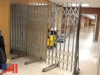 10' x 6' Metal Folding Gate