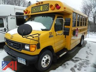 (#321) 2006 Ford E450 School Bus