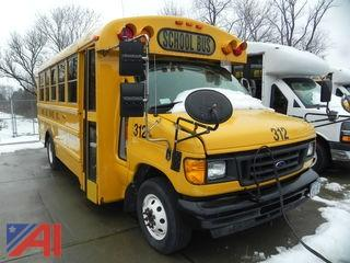 (#312) 2007 Ford E450 School Bus