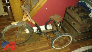 1930's Chain Driven Tricycle