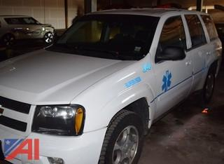 2009 Chevy Trailblazer 4 Door/Emergency Vehicle