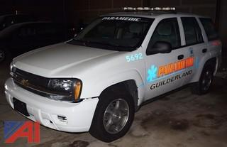2008 Chevy Trailblazer 4DSD/Police Vehicle