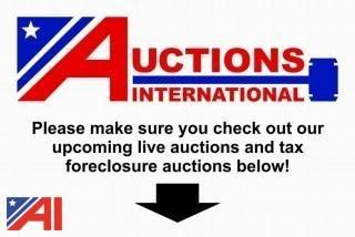 LIVE AUCTION NOTICE