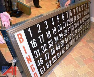 Bingo Machine, Board and Supplies